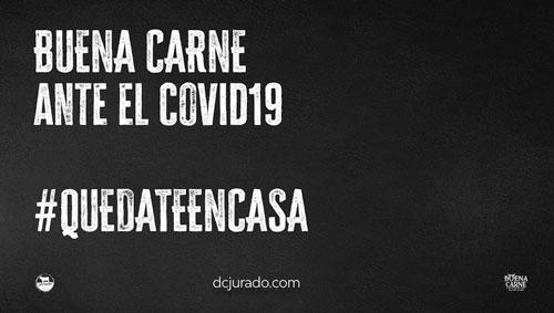BUENA CARNE ANTE EL COVID19